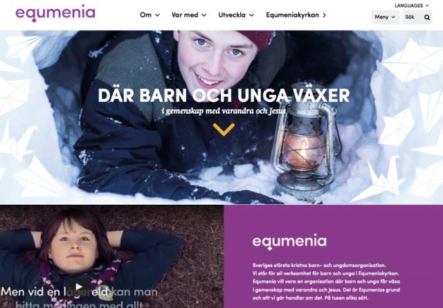 Välkommen till Equmenias nya webbsida! ✨