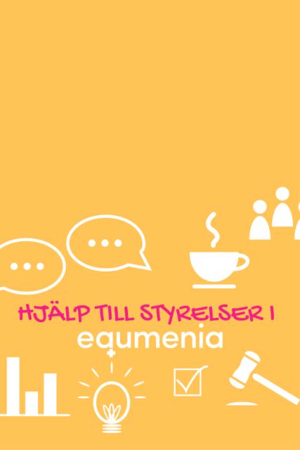 Hjälp till styrelser i Equmenia