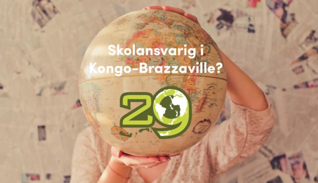 Vill du vara skolansvarig för Apg29 Kongo-Brazzaville under hösten 2018?