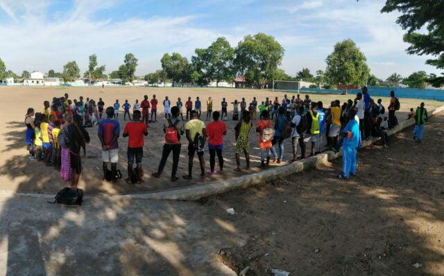 Hälsning från Brazzaville