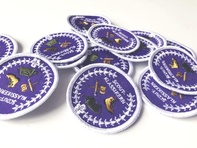 Scoutmärken för Scoutklassikern