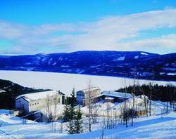 Lia Gård i Norge på vintern