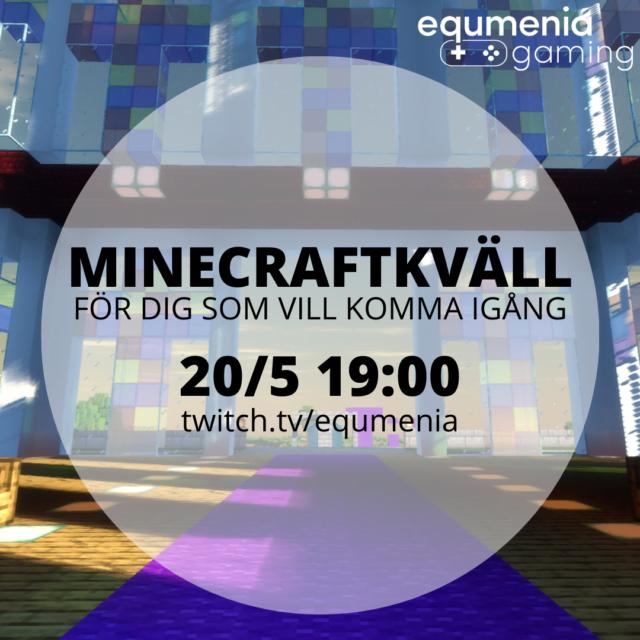 Vill du komma igång med Minecraft?