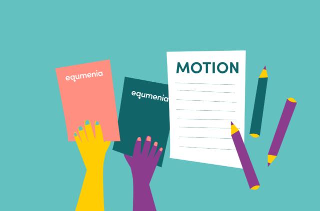 Hur går det till att skriva en motion till riksstämman?