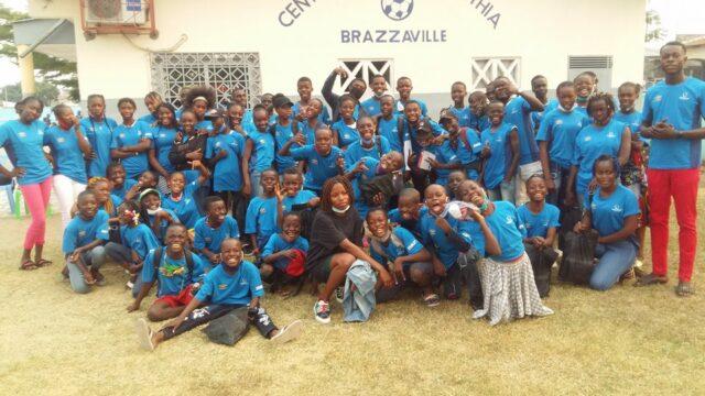 Stor ökning av antal barn vid idrottsskolan i Brazzaville